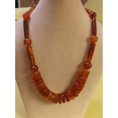Amber Necklace (from Baltique Sea)