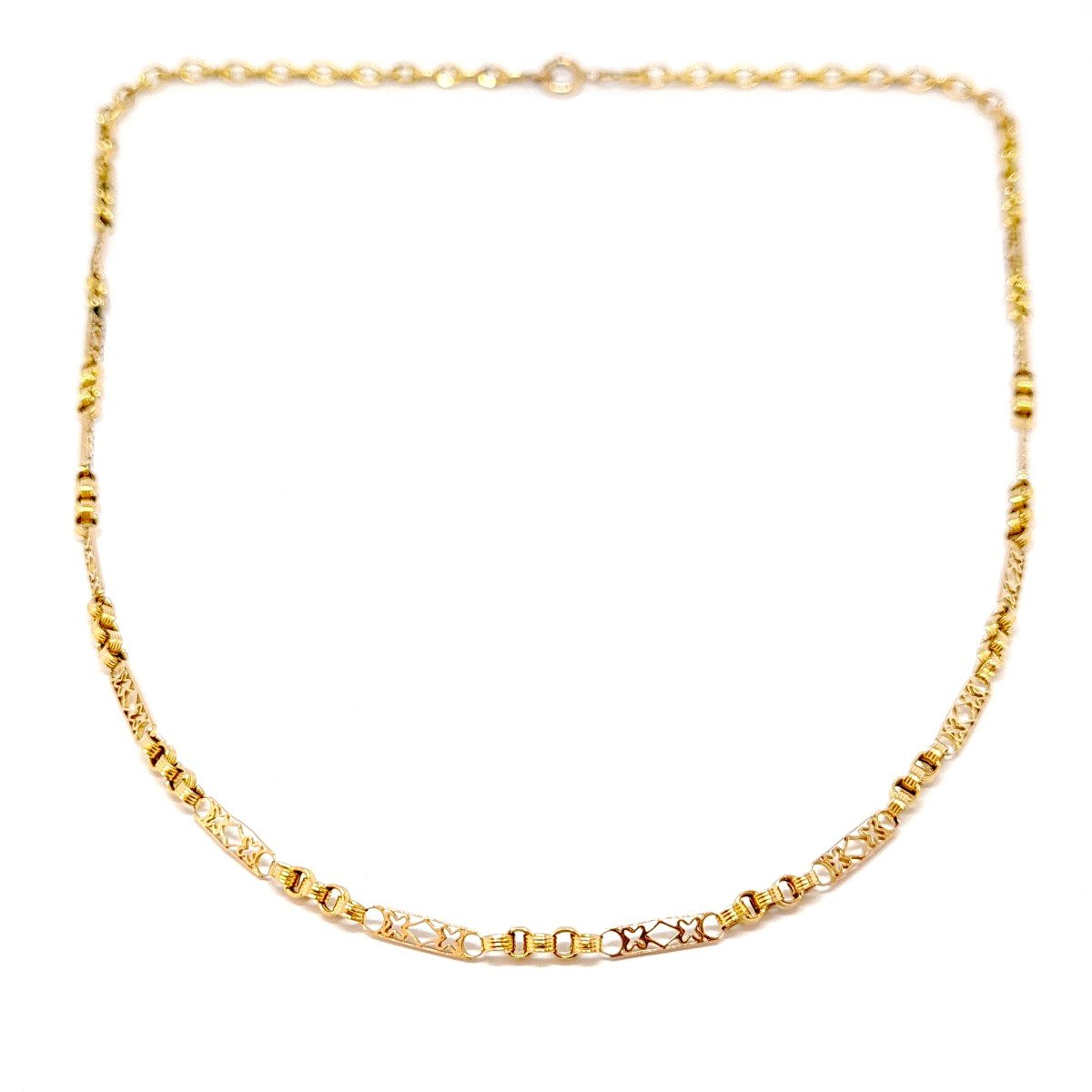 Collier Ancien Or Jaune 18 Carats
