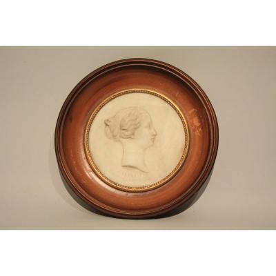Biscuit Medallion XIXth Century