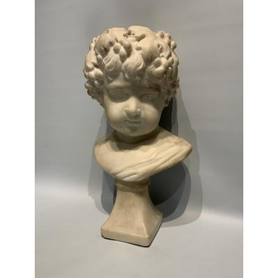 Marble Bust Representing A Child