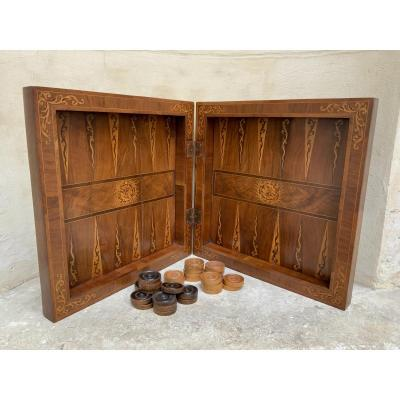 Backgammon Game France XVIIIth Century