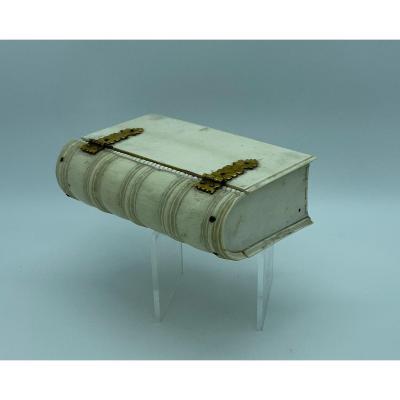 Ivory Bible Box, Sri Lanka From The Dutch Colonial Period XVIIIth Century