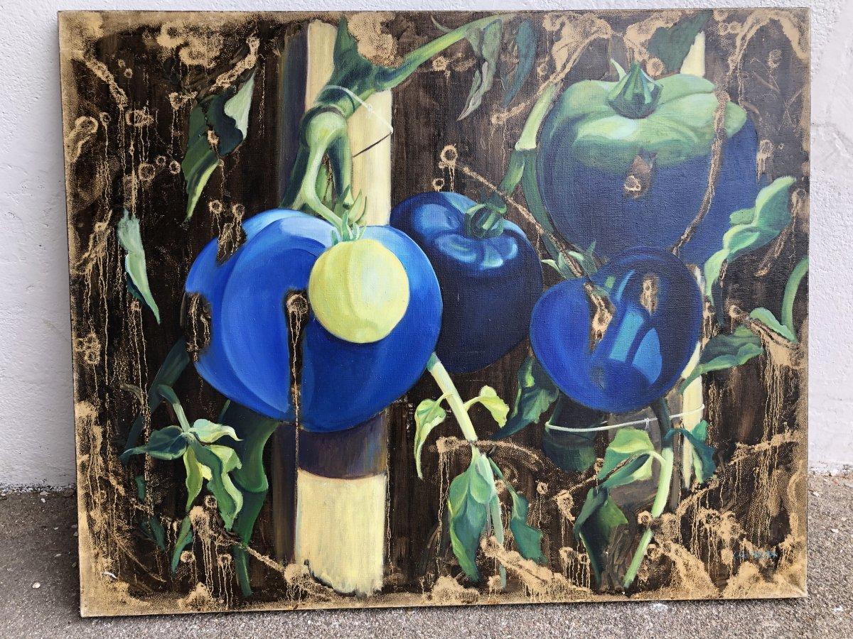 Les Tomates Bleues De Gilles Capton