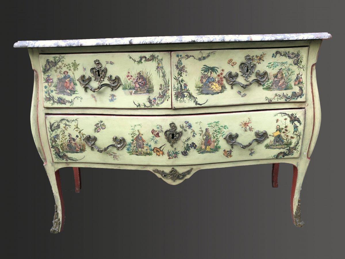 Commode Arte Povera Italie époque XVIIIéme