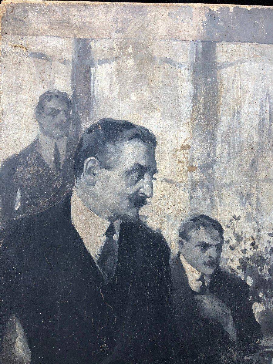 Peinture - Huile Sur Toile école Russe Vers 1900-photo-6