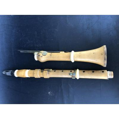 Noblet Father Daughter Clarinet Boxwood And Ivory Rings