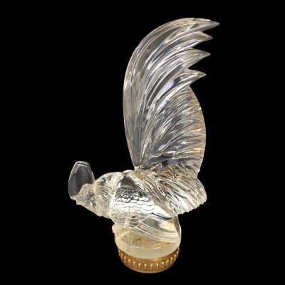 René Lalique - Coq Nain - Mascotte Bouchon de radiateur