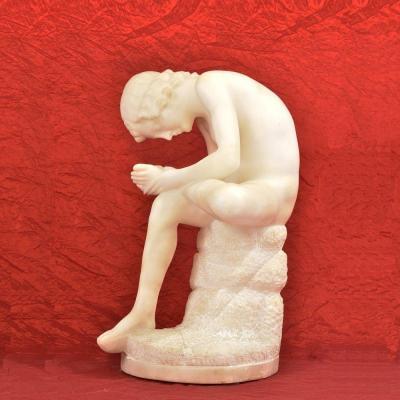 Sculptures anciennes,  albâtre,