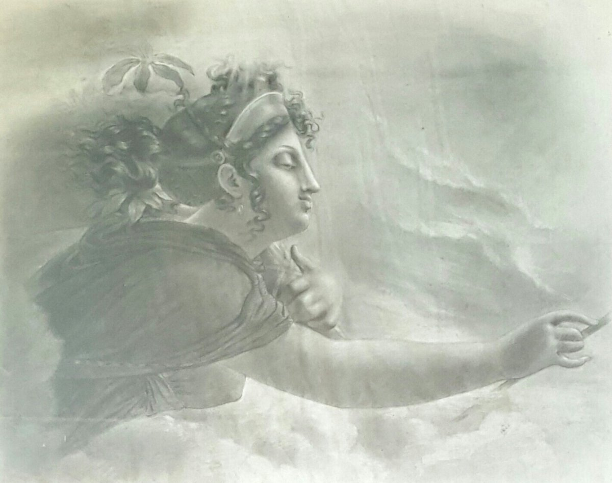 Drawing Mythological Subject By Couperin De La Couperie-photo-2