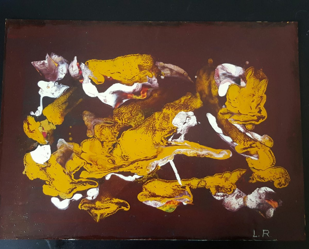 Abstract Painting By L. Reigner