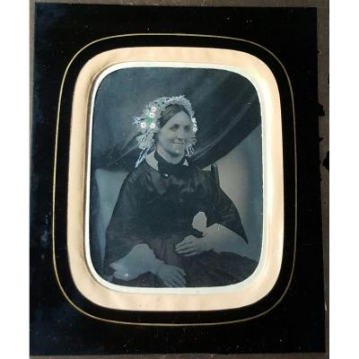 Lot De 3 ambrotypes de 1862