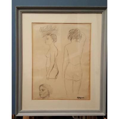 Leopold Reigner's Female Nude Study
