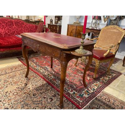 Game Table With Walnut Candlesticks Doors Ep18th