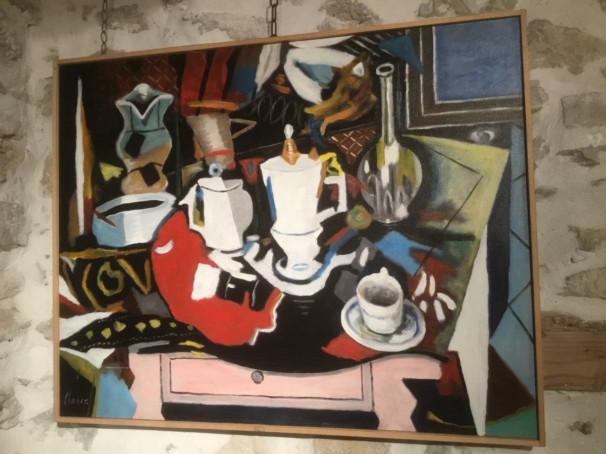 H.S.T. Roland CHANCO, « Nature Morte à la Cafetière »