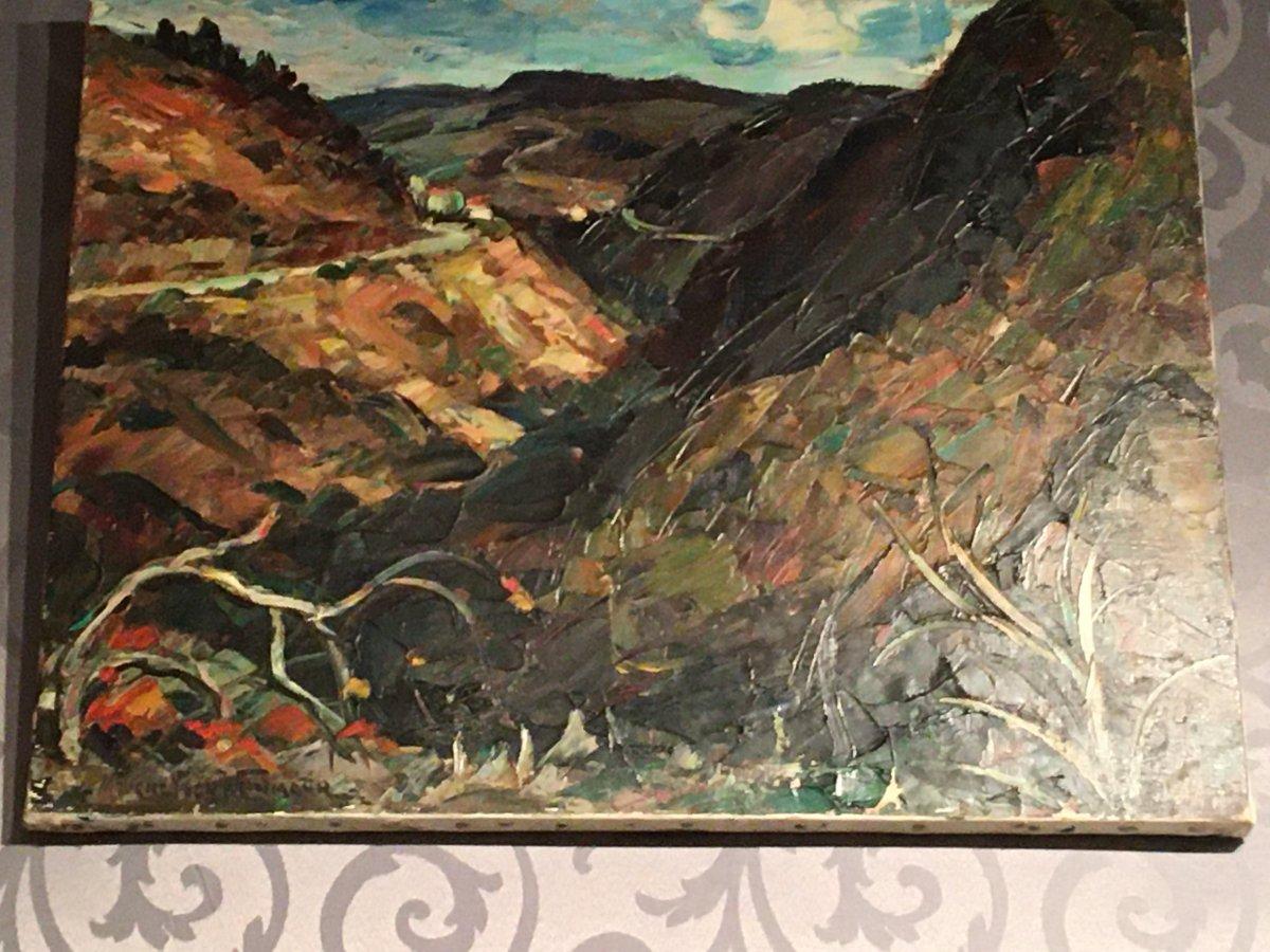 Hst De Maurice Vagh Weinmann « La Route De Montagne »
