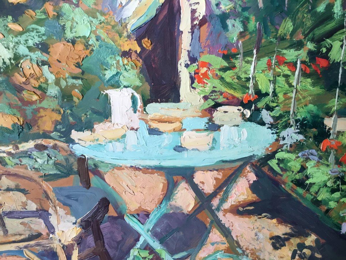 Oil On Panel By Lucien Jonas-photo-4