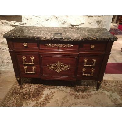 ​​​​​​​commode Louis XVI 19th Century