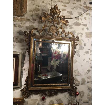 Miroir Italien, 18ième Siècle