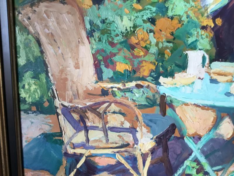Oil On Panel By Lucien Jonas-photo-2