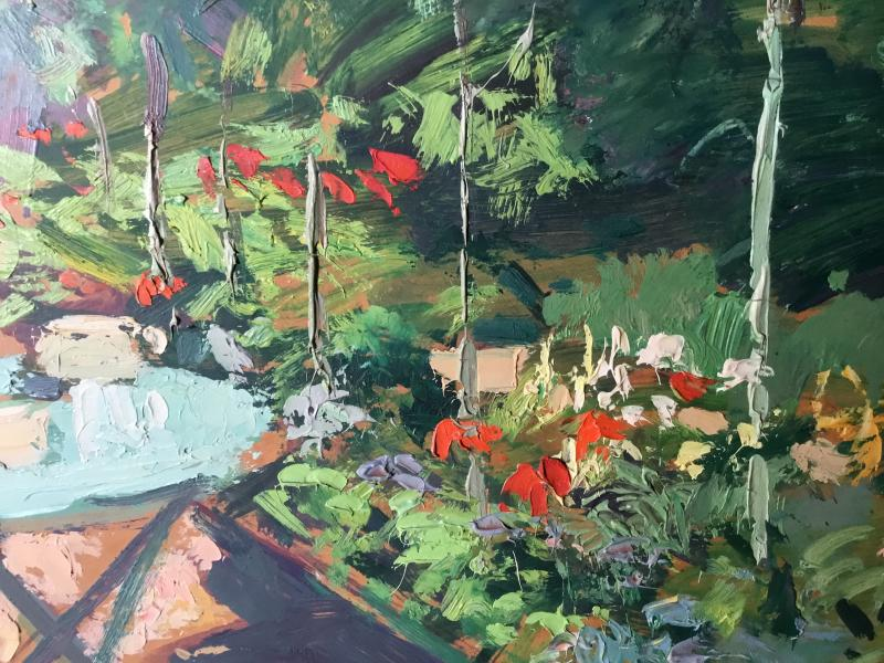 Oil On Panel By Lucien Jonas-photo-3