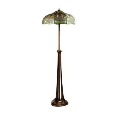 Handel, Art Nouveau Floor Lamp