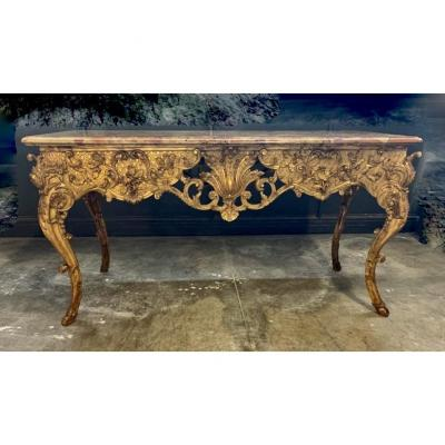 Large Mid Table From The Regency Period