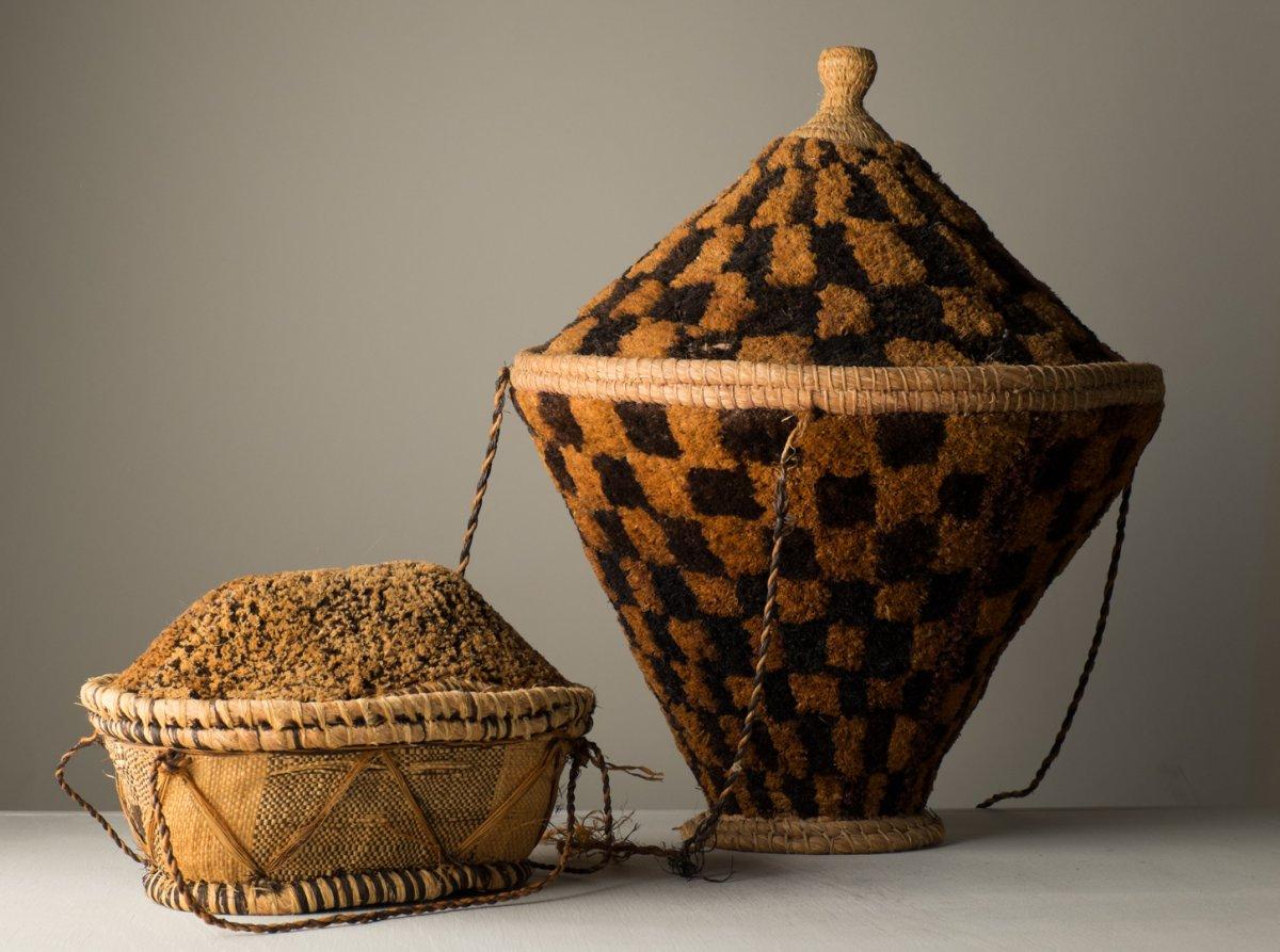 Baskets . Basketry Of Africa .. Congo, Pende And Kuba ..