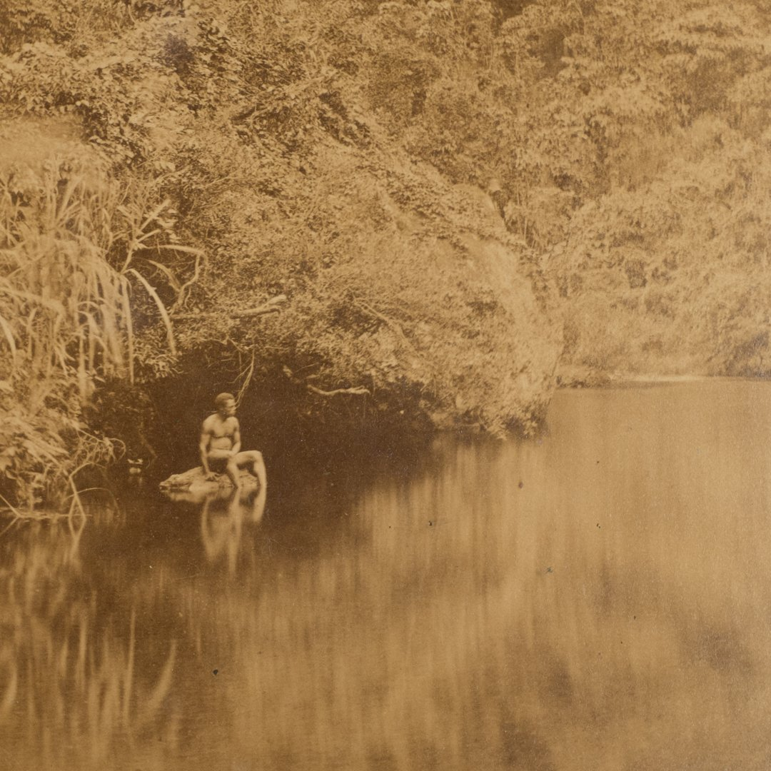 Francis Dufty and Alfred Dufty photographes . Îles Fidji . Océanie ..