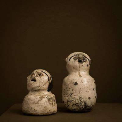 Ewe Couple - Ghana - Terracotta Sculpture - Voodoo ..