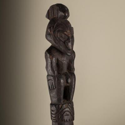 pilon bas Sépik, Papouasie-Nouvelle-Guinée, Mélanésie ..