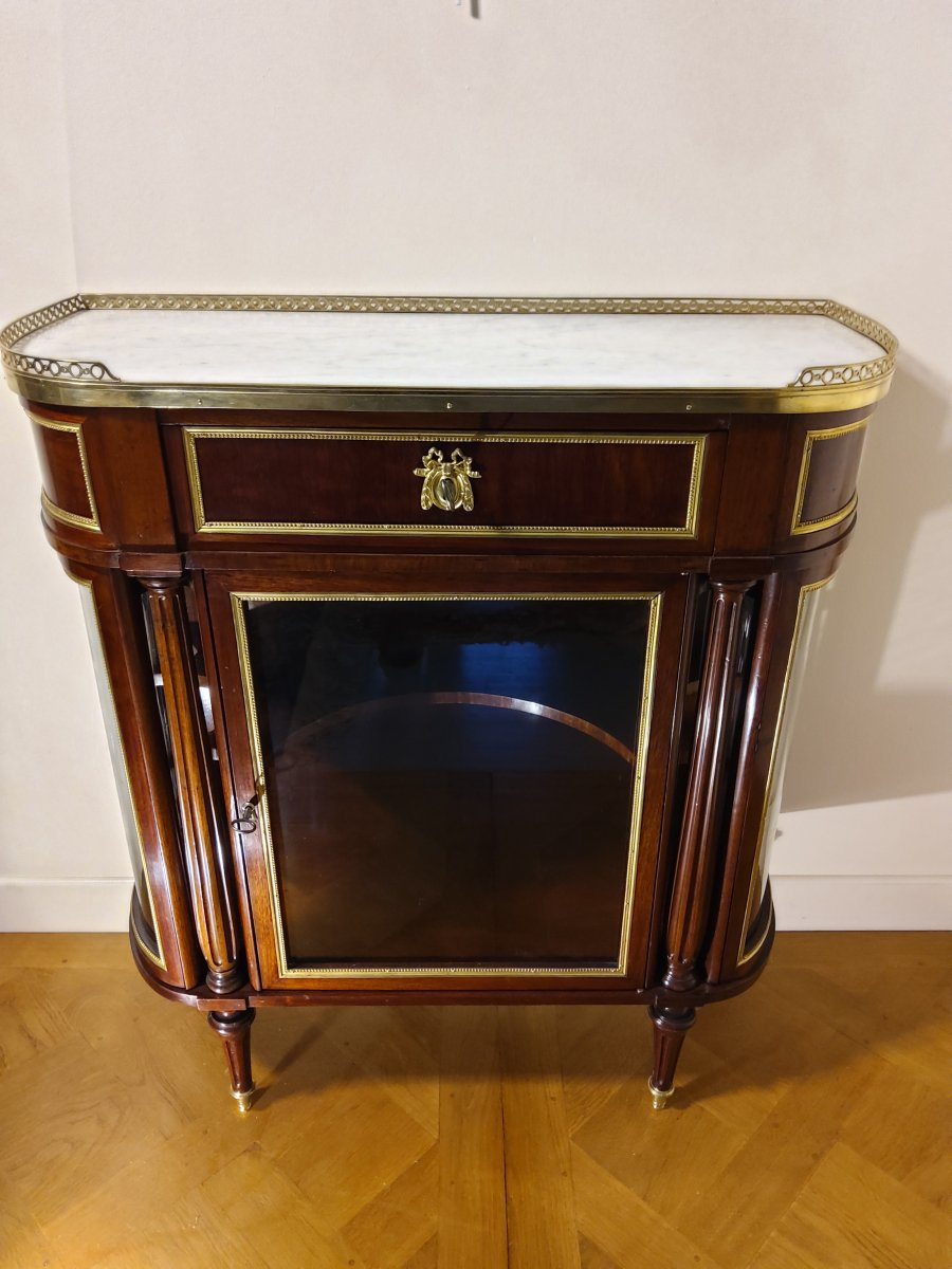 Louis XVI Style Showcase Late XIX Period