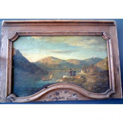 Peinture Bord De Lac
