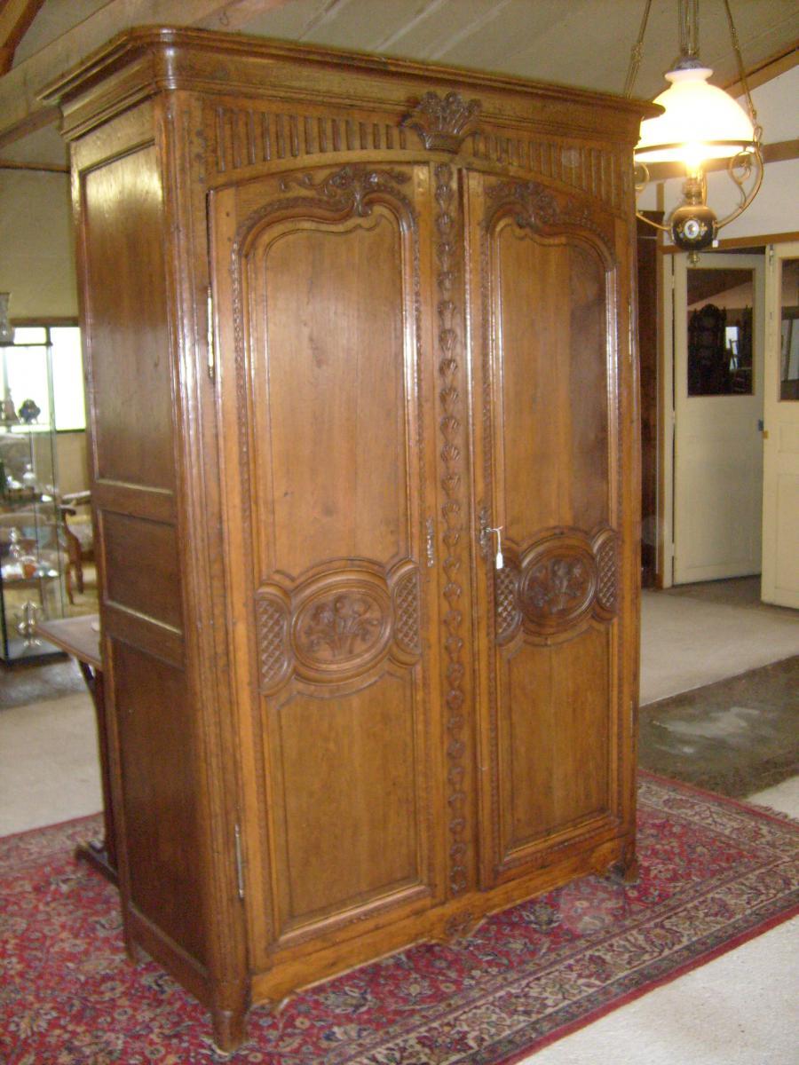 armoire normande xviiie si 232 cle en ch 234 ne armoires