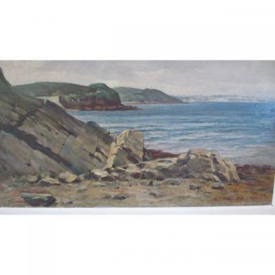 Baie De Roscanvel  (brest)  Paul Fauvel