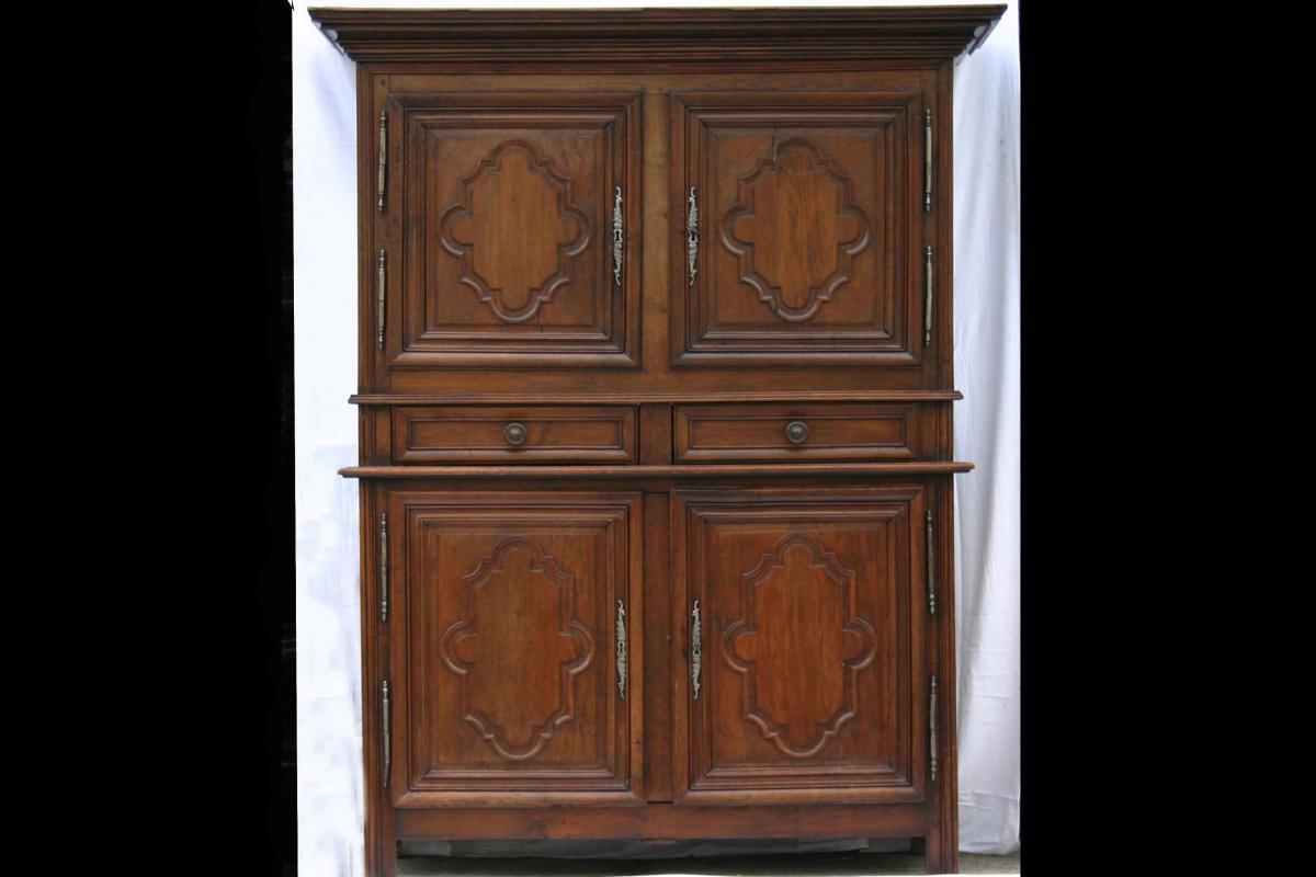 Oak Four-door, Late Seventeenth Century