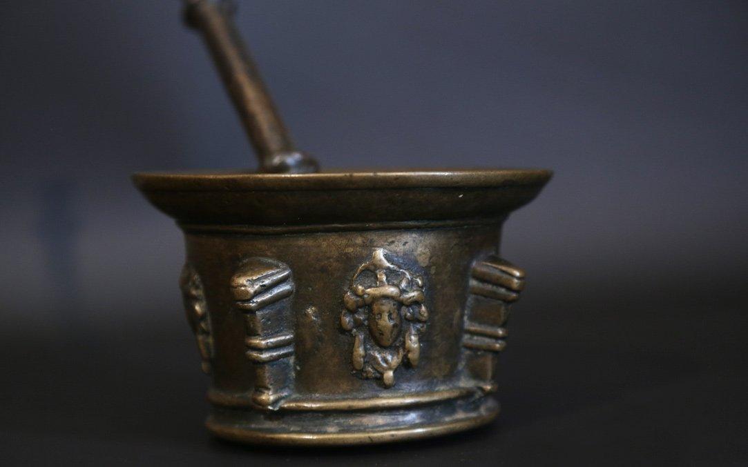 17th Century Mortar, Bronze