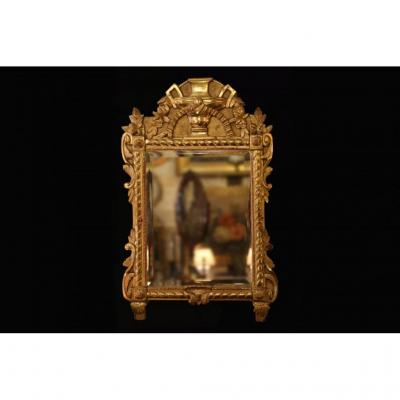 Mirror In Golden Wood At The Leaf, 19th Century