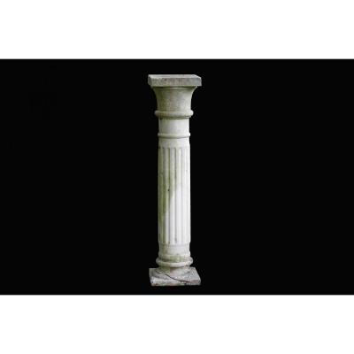 Garden Column, Reconstituted Stone