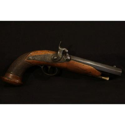 Officer's Pistol, Percussion, Early 19th