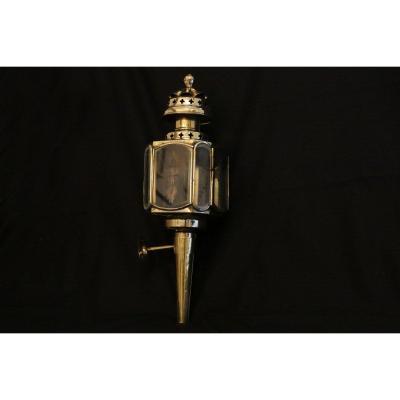 Lanterne En Laiton, XVIIIème-début XIXe Siècle