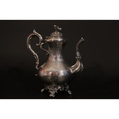 Sterling Silver Teapot, 410 G