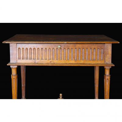 Walnut Table, Louis XVI