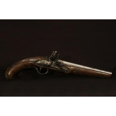 Pistolet d'Arçon, XVIIIème, Silex