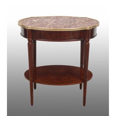 Petite Table Ancienne Français Napoléon III XIX Siècle