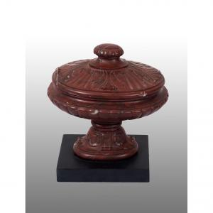 Old Model Red Marble Box
