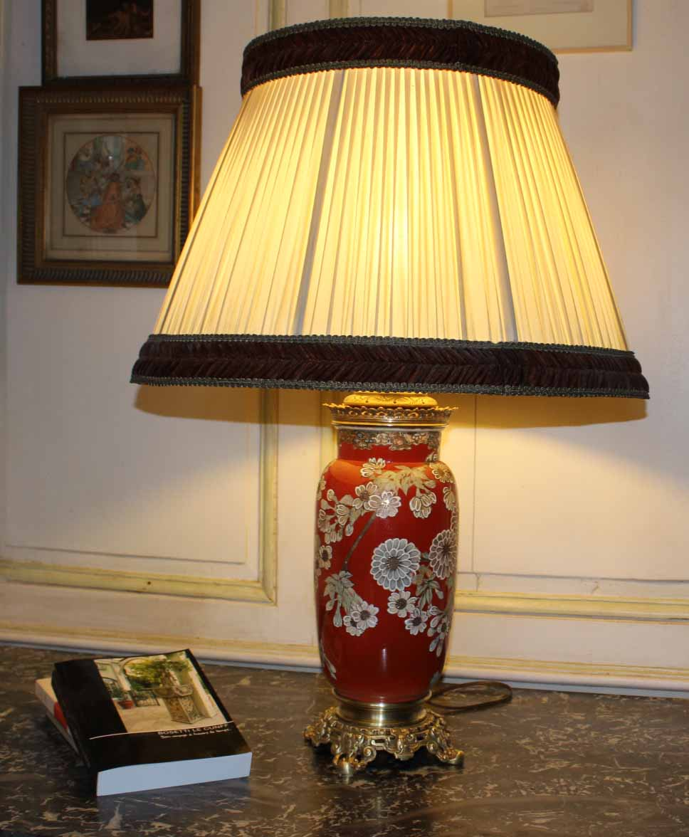 Fine Earthenware Lamp