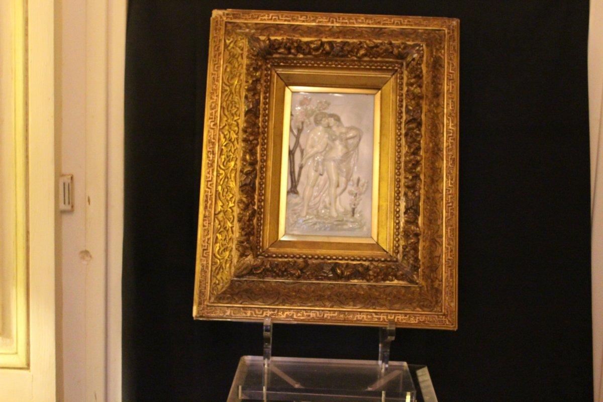 Tableau Porcelaine Napoléon III
