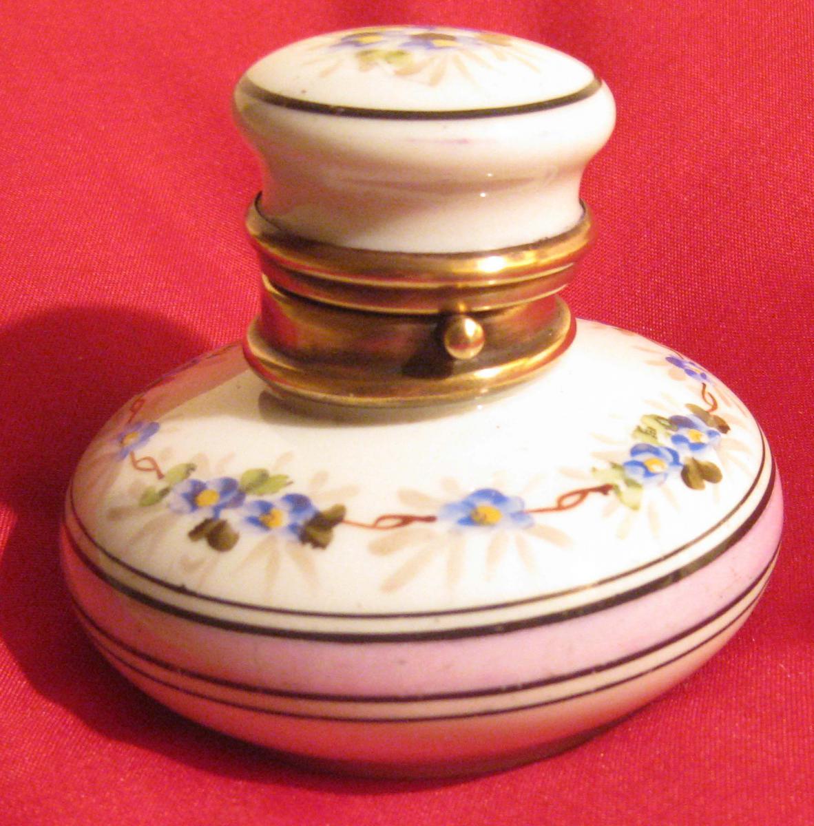 ENCRIER porcelaine Paris