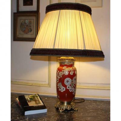 Lampe Faïence Fine