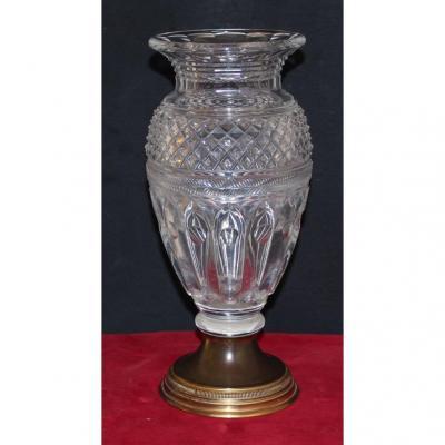 Vase Cristal Napoléon III